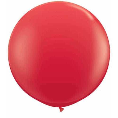 Red Giant Latex Balloons x2