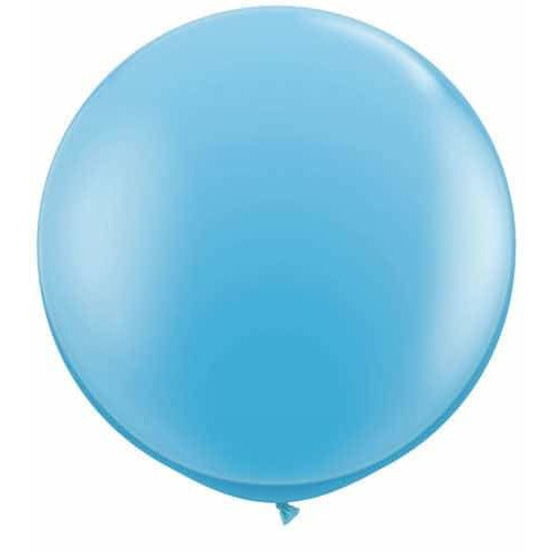 Pale Blue Giant Latex Balloons x2
