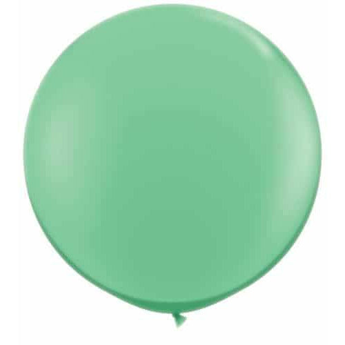 Wintergreen Giant Latex Balloons x2
