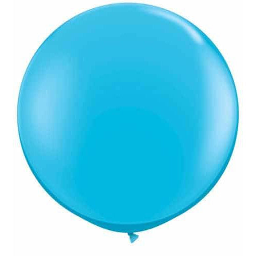 Robins Egg Blue Giant Latex Balloons x2
