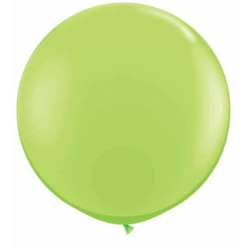 Lime Green Giant Latex Balloons x2