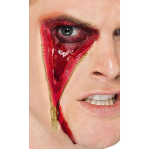 Zip Face Scar Latex Make Up