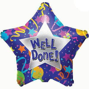 Well Done Foil Balloon - mypartymonsterstore