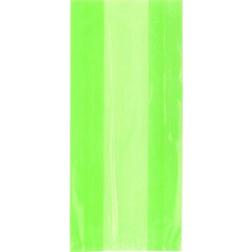 Lime Green Cello Bags x30