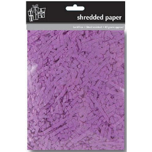 Lilac Shredded Tissue Paper