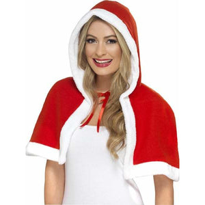 Miss Claus Mini Cape - mypartymonsterstore