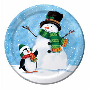 Penguin Pal Dinner Plates x8 - mypartymonsterstore