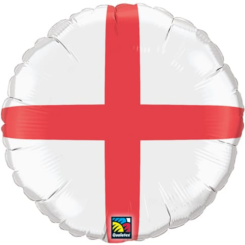 ST Georges Cross Foil Balloon