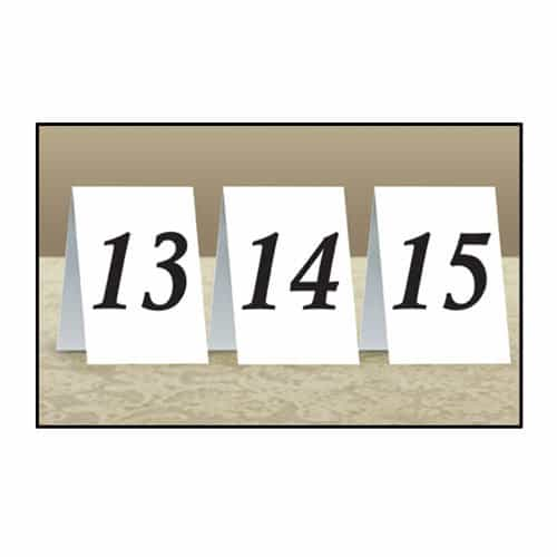 Place Cards 13 to 24