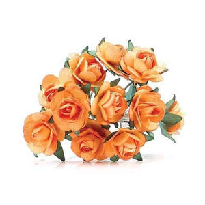 Gold Tea Roses x24 - mypartymonsterstore