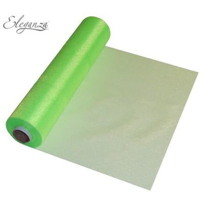 Lime Green Organza Roll