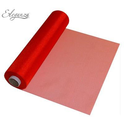 Red Organza Roll