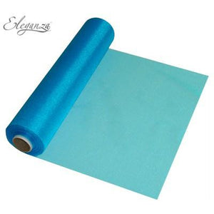 Turquoise Organza Roll - mypartymonsterstore