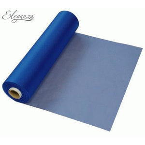 Navy Blue Organza Roll