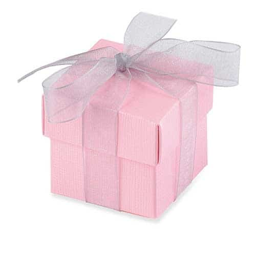 Pink Favour Box And Lid x10