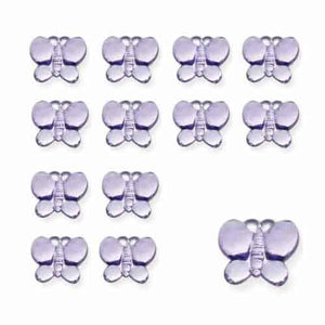 Lilac Butterfly Diamantes - mypartymonsterstore