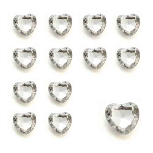Silver Heart Diamantes