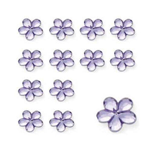Lilac Flower Diamantes - mypartymonsterstore