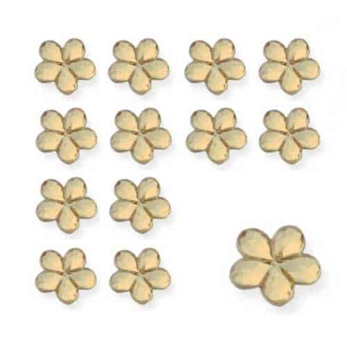 Gold Flower Diamantes