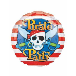 Pirate Party Foil Balloon - mypartymonsterstore