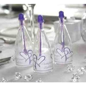 Purple Top Champagne Bubbles x24