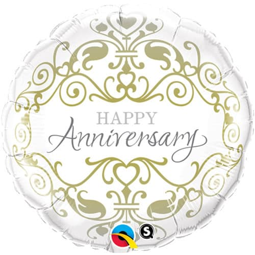 Happy Anniversary Classic Foil Balloon