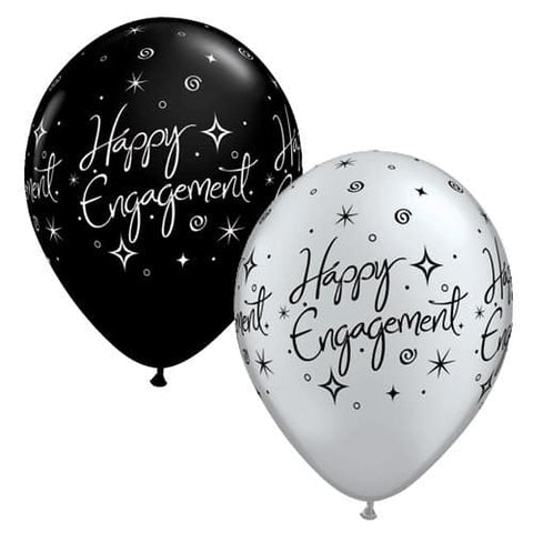 Engagement And Hen Night Latex Balloons