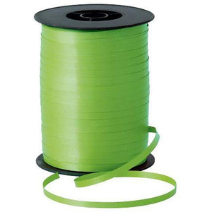 Lime Green Curling Ribbon - mypartymonsterstore