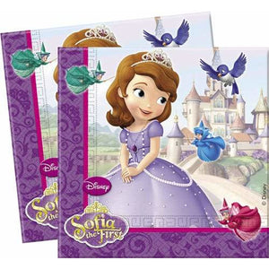 Sofia The First Lunch Napkins x20 - mypartymonsterstore