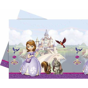 Sofia The First Plastic Tablecover - mypartymonsterstore