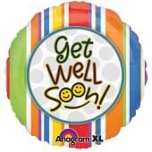 Get Well Soon Smiles Foil Balloon