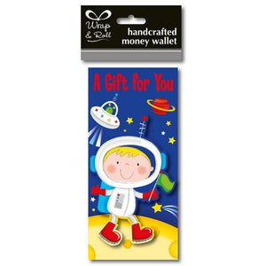 Spaceman Money Wallet - mypartymonsterstore