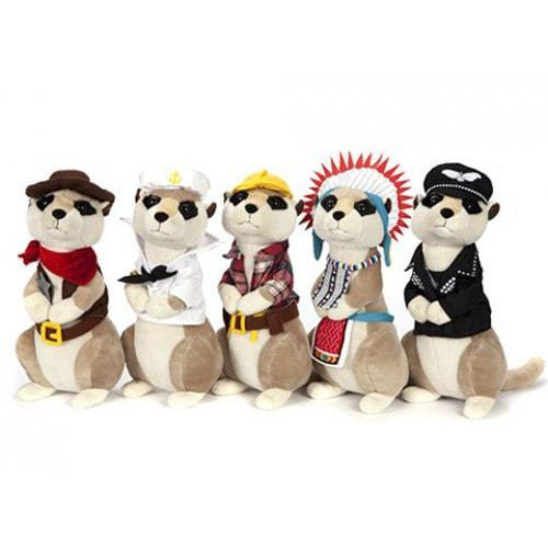 Fancy Dress Meerkat Soft Toys