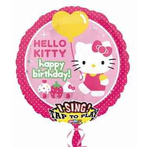 SATB Hello Kitty Happy Birthday Foil Balloon