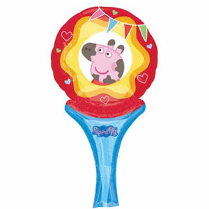 Peppa Pig Inflate A Fun Air Filled Balloon - mypartymonsterstore