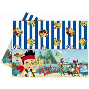 Disney Jake And Neverland Pirate Plastic Tablecover x1 - mypartymonsterstore