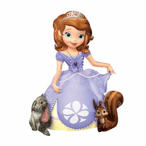 Sofia The First Airwalker Balloon - mypartymonsterstore