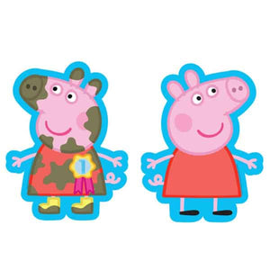 Peppa Pig 2 Sided Supershape Balloon - mypartymonsterstore