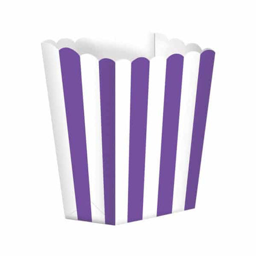 Purple Candy Buffet Popcorn Boxes 5pk