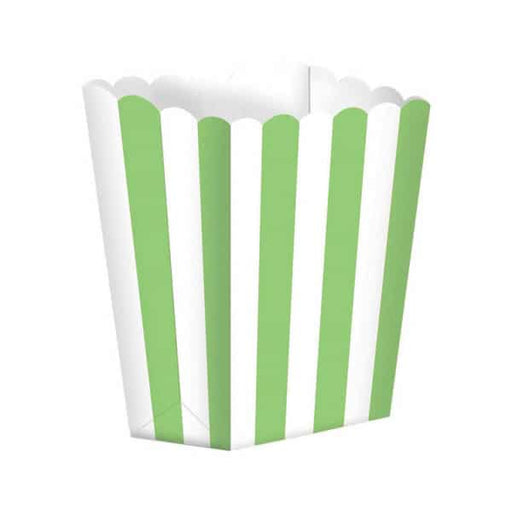 Kiwi Green Candy Buffet Popcorn Boxes 5pk