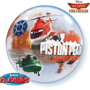 Disney Planes Fire And Resue Single Bubble Balloon