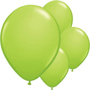 Lime Green Latex Balloons 6ct - mypartymonsterstore