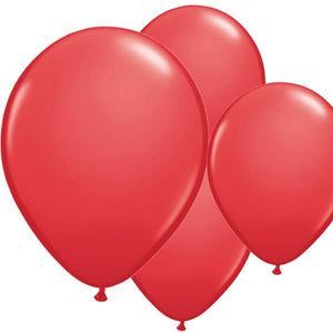 Red Latex Balloons 6ct - mypartymonsterstore