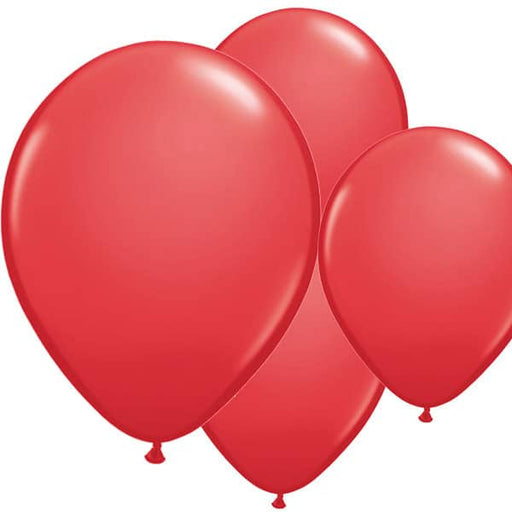 Red Latex Balloons 6ct