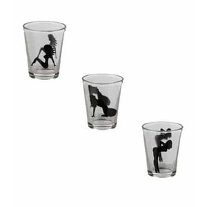 Sexy Ladies Shot Glasses x 5 - mypartymonsterstore
