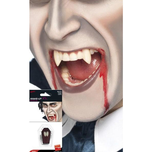 Vampire Fangs Tooth Caps White