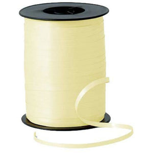 Ivory Curling Ribbon