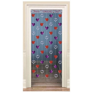 Heart Foil Door Decoration - mypartymonsterstore