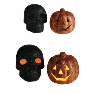 Flickering Skull And Pumpkins 1pk