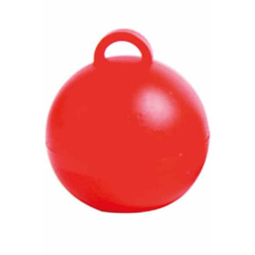 Red Bubble Balloon Weights 1pk